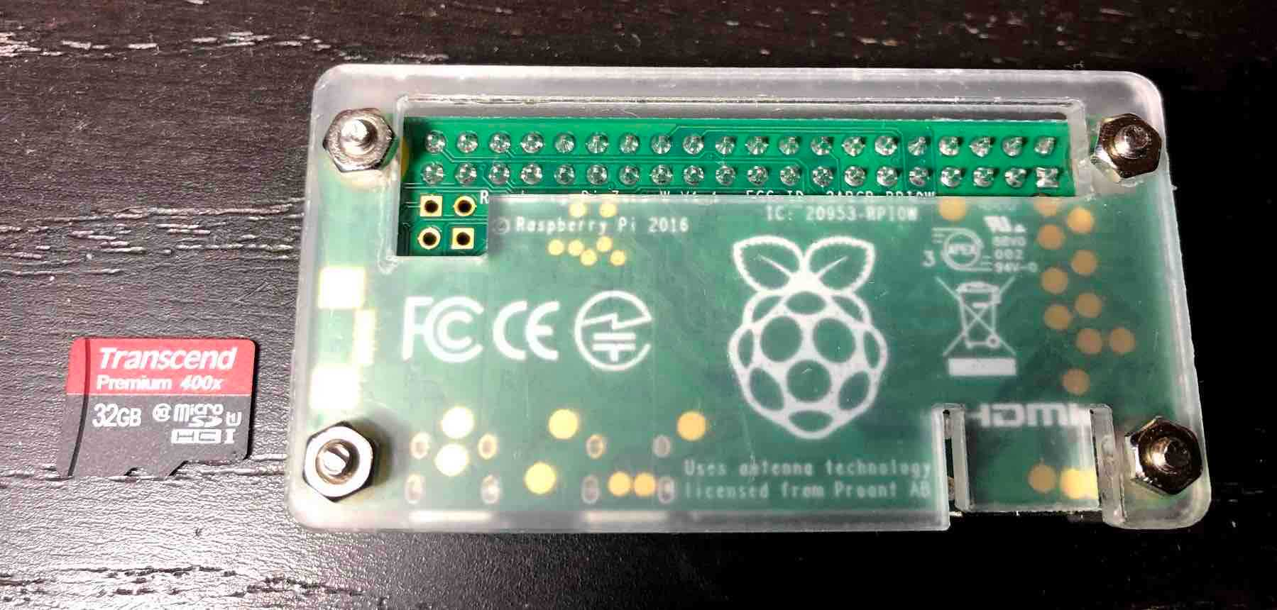 Raspberry Pi Zero WHにOSインストールして起動するまで - tech memo